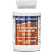 A Z Multivitamins Minerals (120 Tablets)