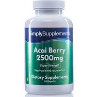 Acai Berry 2500mg (240 Capsules)