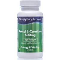 Acetyl L Carnitine 500mg (60 Tablets)