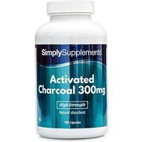 Activated Charcoal 300mg (180 Capsules)
