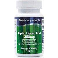 Alpha Lipoic Acid 250mg (60 Capsules)