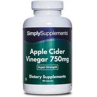 Apple Cider Vinegar 750mg (180 Capsules)