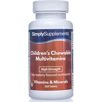 Childrens Chewable Multivits Raspberry (360 Tablets)
