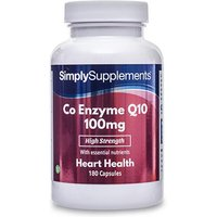 Co Enzyme Q10 100mg (180 Capsules)