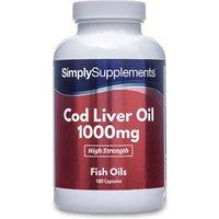 Cod Liver Oil 1000mg (120 Capsules)