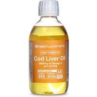 Cod Liver Oil Liquid (60 Servings)