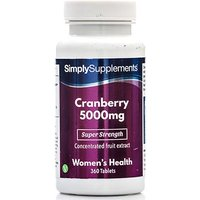 Cranberry 5000mg (360 Tablets)
