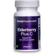 Elderberry Vitamin C (60 Capsules)