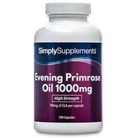 Evening Primrose Oil 1000mg (120 Capsules)