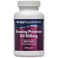 Evening Primrose Oil 500mg (360 Capsules)