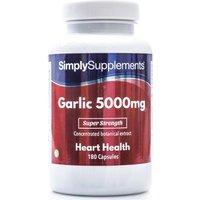 Garlic 5000mg (360 Capsules)