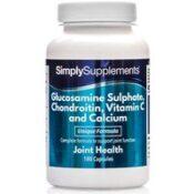 Glucosamine Chondroitin Vit C Calcium (360 Capsules)