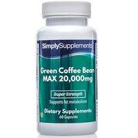 Green Coffee Bean Max 20000mg (60 Capsules)