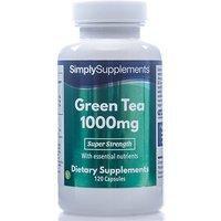 Green Tea Extract 1000mg (120 Capsules)