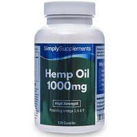 Hemp Seed Oil (120 Capsules)
