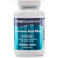 Hyaluronic Acid 50mg (60 Capsules)