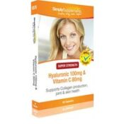 Hyaluronic Acid Vitamin C (60 Capsules)