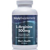 L Arginine 500mg (240 Capsules)