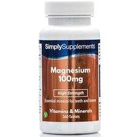 Magnesium 100mg (360 Tablets)