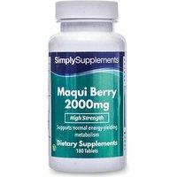 Maqui Berry 2000mg (180 Tablets)