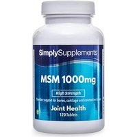 Msm 1000mg (120 Tablets)