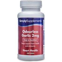 Odourless Garlic 2mg (360 Tablets)