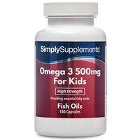 Omega 3 Kids 500mg (360 Capsules)