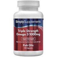 Omega 3 Triple Strength 1000mg (240 Capsules)
