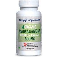 Organic Ashwagandha (60 Capsules)