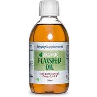 Organic Flaxseed Oil (300 ml)