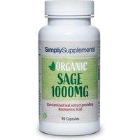Organic Sage (90 Capsules)