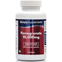 Pomegranate 10000mg (240 Tablets)