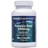 Pumpkin Seed 2000mg (180 Capsules)