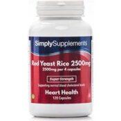 Red Yeast Rice 2500mg (240 Capsules)