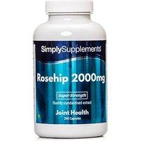 Rosehip 2000mg (240 Capsules)