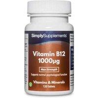 Vitamin B12 1000mcg (120 Tablets)