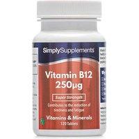 Vitamin B12 250mcg (120 Tablets)