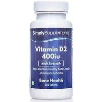 Vitamin D 400iu (360 Tablets)